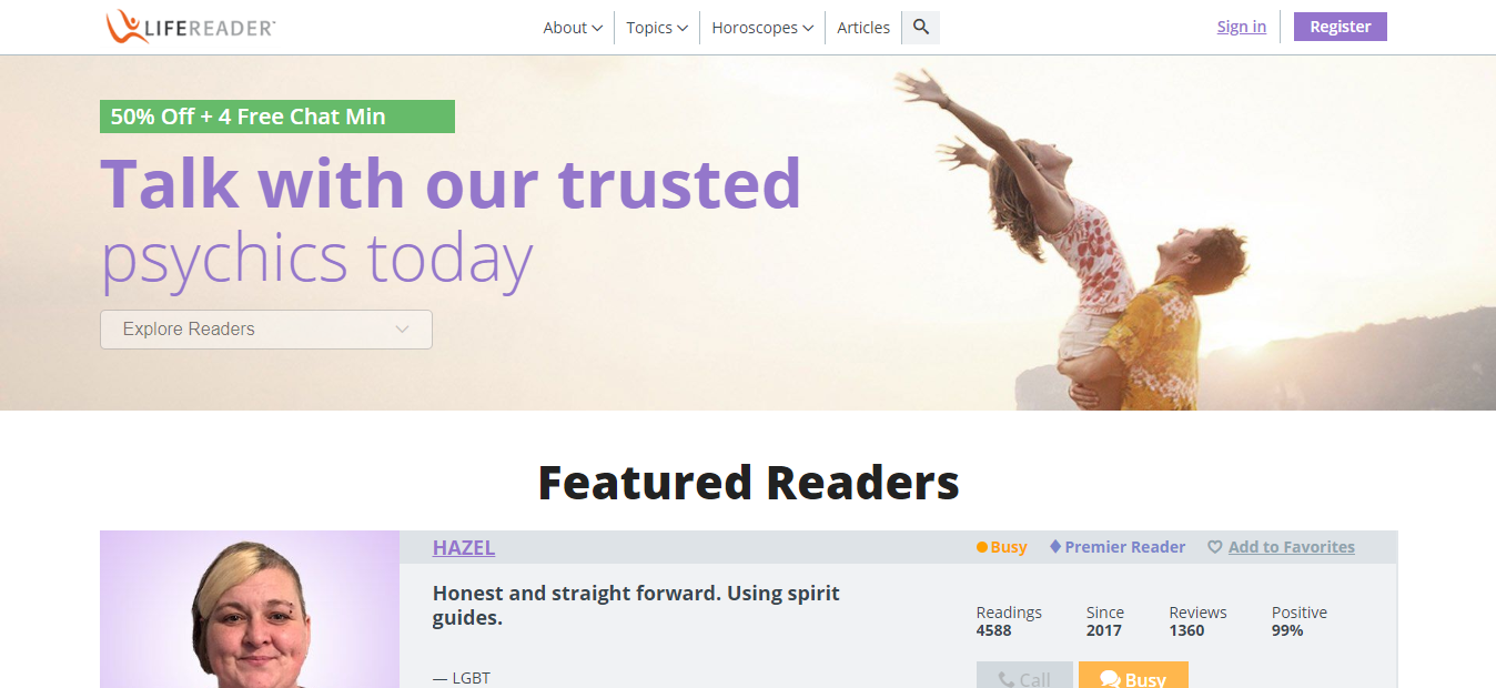 Life reader website