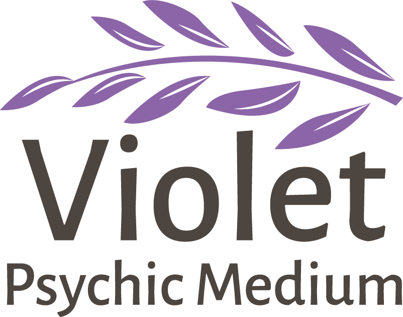 Violet Psychic Medium Logo