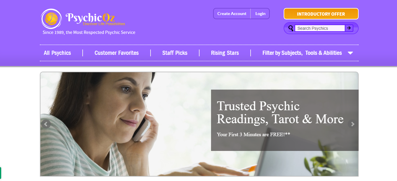 psychic oz website review